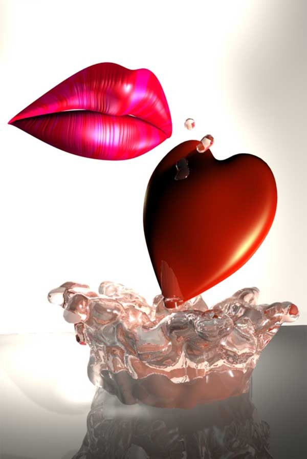 Love splash by Phill Luland