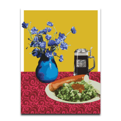 Still life with Wolfgang poster