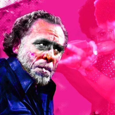 Charles Bukowski poster by Moffa