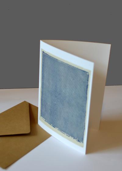 zeefdruk card