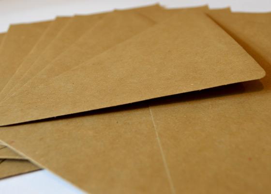 enveloppen voor wenskaarten