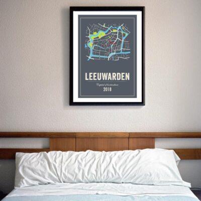 leeuwarden poster inlijste