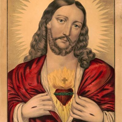 sacred heart tattoo art