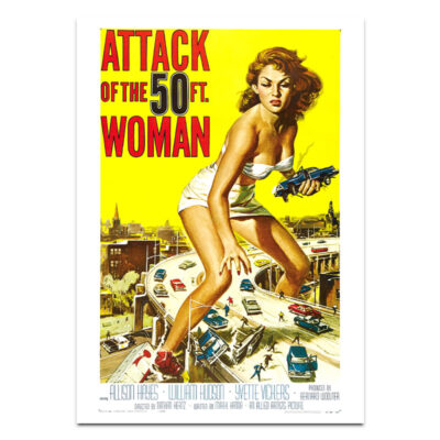 Attacke of the 50ft Woman poster