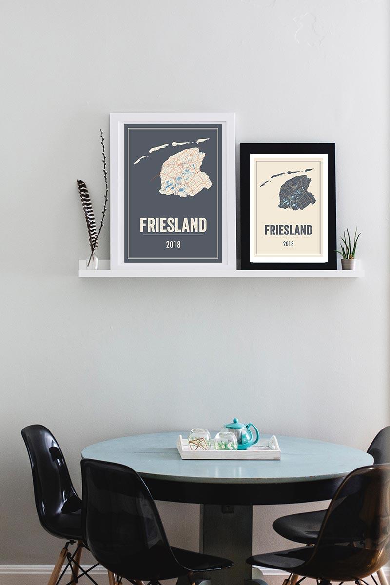 Posters Friesland