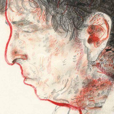 Bob Dylan poster detail