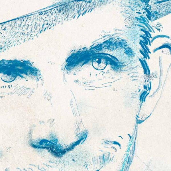 Hank Williams by Derek Bacon