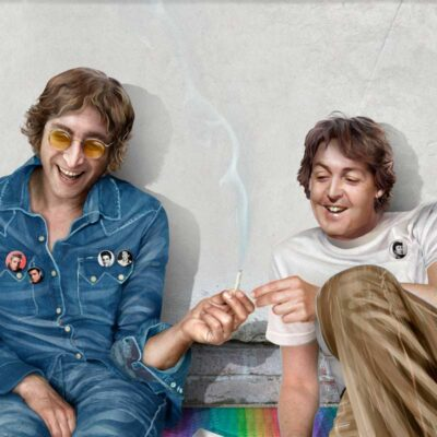 Paul McCartney pot smoking