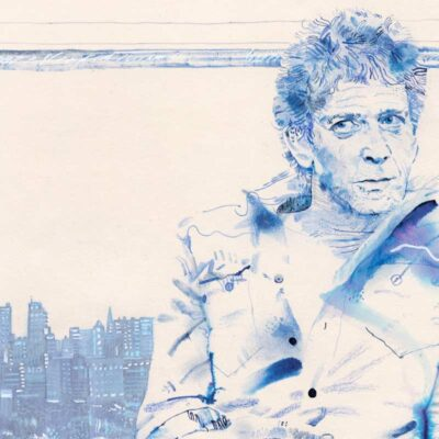 Lou Reed artwork