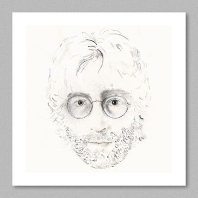 John Lennon poster by Derek Bacon