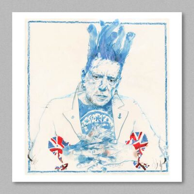 Johnny Rotten poster