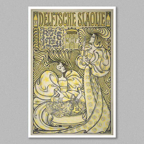 delft slaolie poster