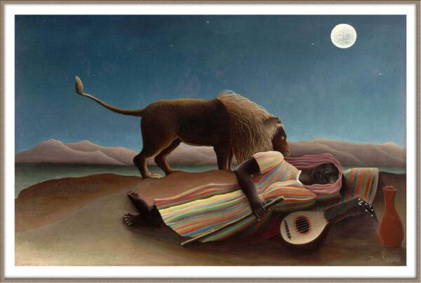 Rousseau sleeping gypsy