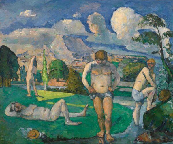bathers at rest - Paul Cézanne