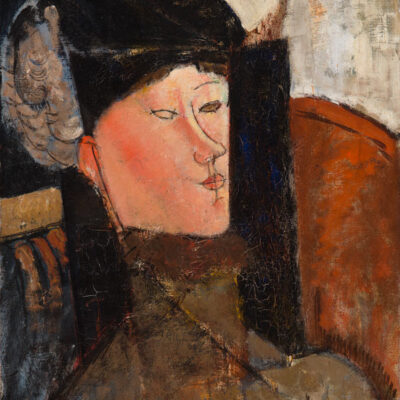 Portrait of Beatrice door Amedeo Modigliani