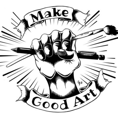 make good art poster