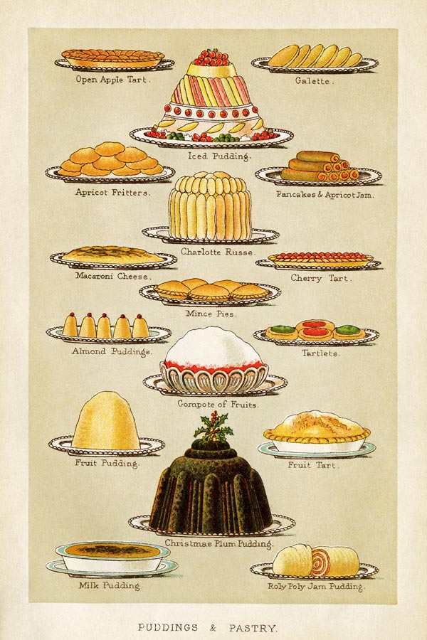 mrs beetons puddings poster