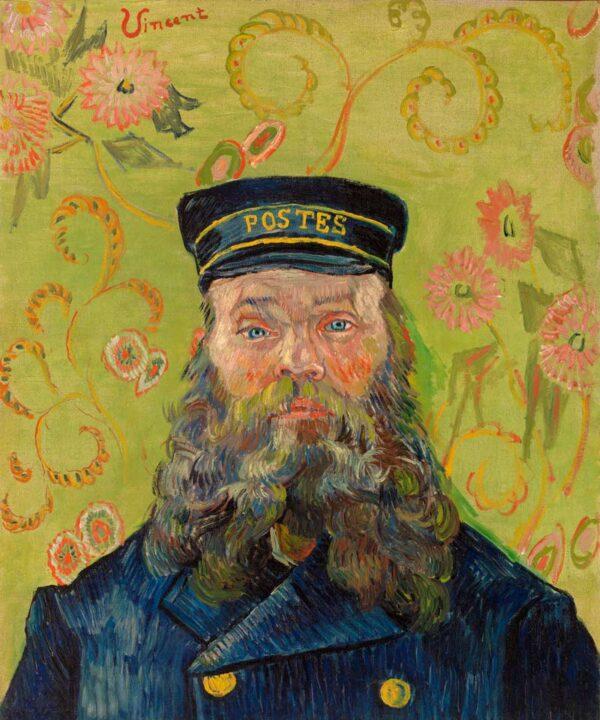 De Postbode door Vincent Van Gogh