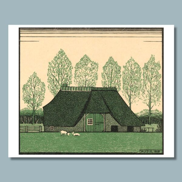 boerderij tekenen Julie de Graag