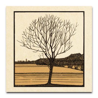 kale boom bruin door Julie De Graag