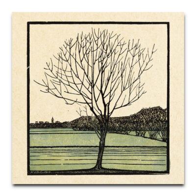 kale boom groen door Julie De Graag