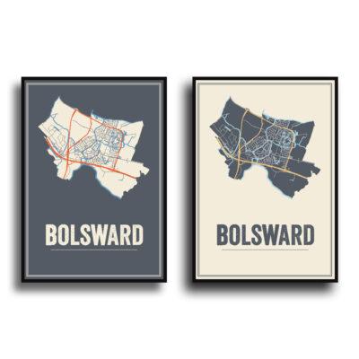 Bolsward Kaart