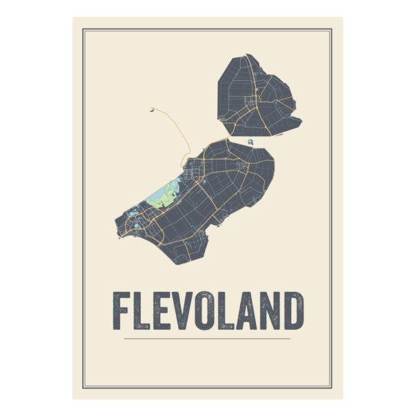 Flevoland map
