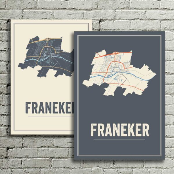 Franeker kaarten