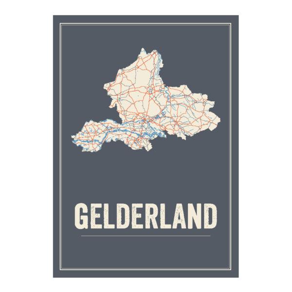 poster van Gelderland, Nederland