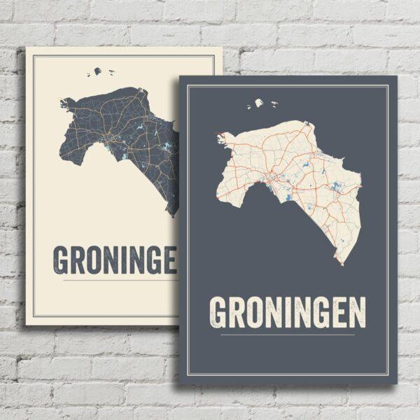 Groningen Kaarten posters