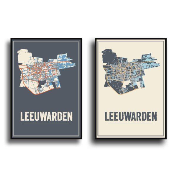 Leeuwarden kaart