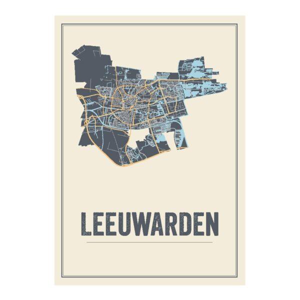 Poster van Leeuwarden