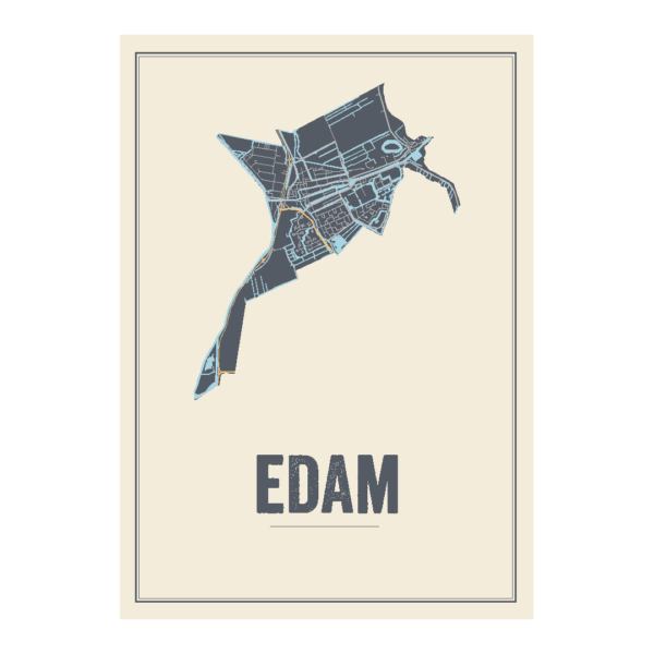 poster van Edam