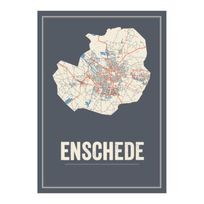 Enschede kaart