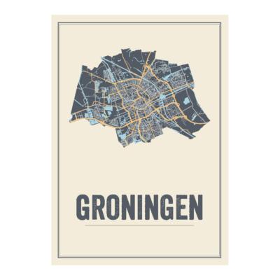 Groningen Stad kaart