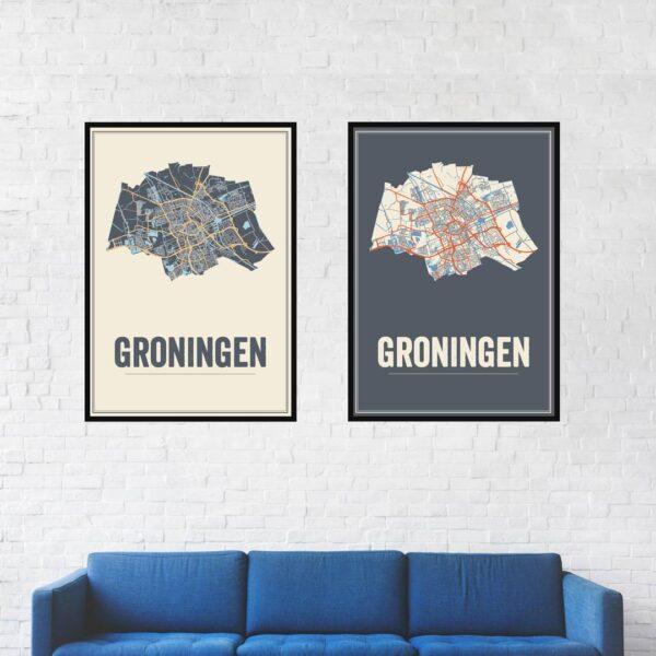 Groningen stad poster