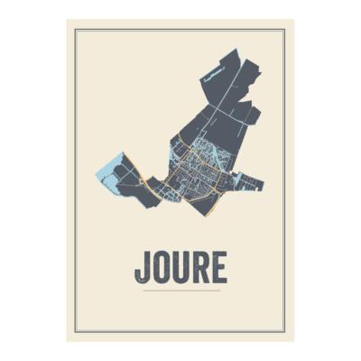 Joure kaart