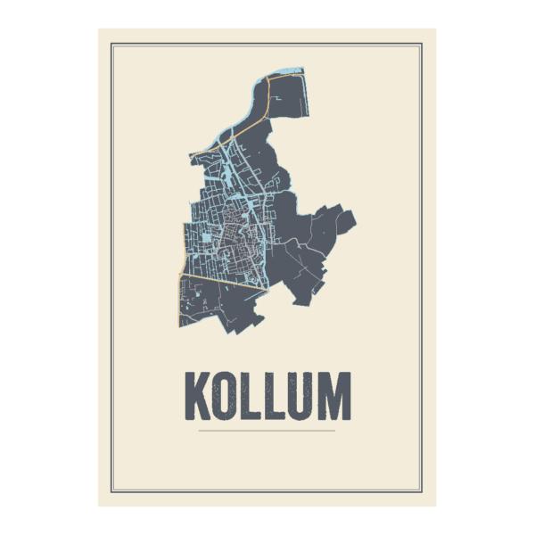 Kollum kaart