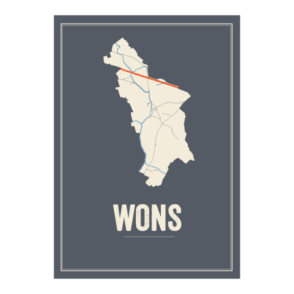 Wons Friesland poster