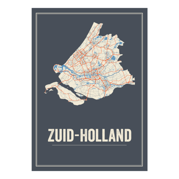 poster zuid holland