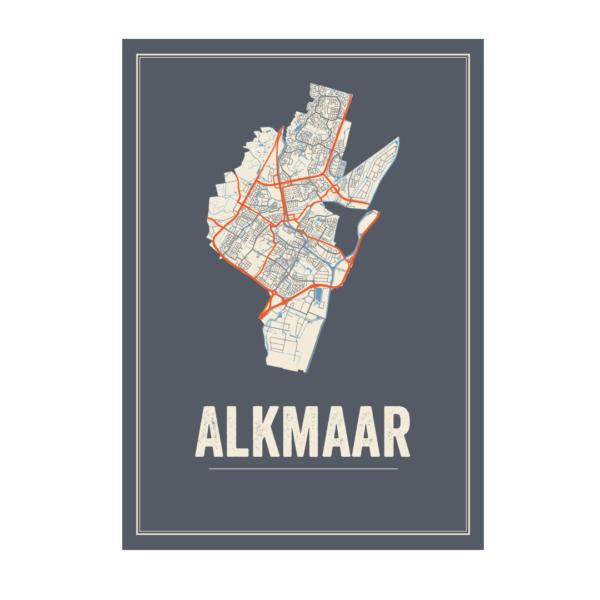 Stadskaart Alkmaar
