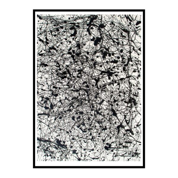 Dalmations abstrakt kunst