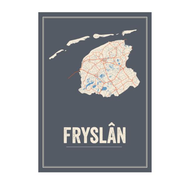 poster Fryslan