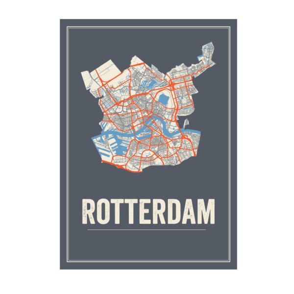 poster Rotterdam Stad