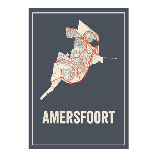 Amersfoort kaarten posters