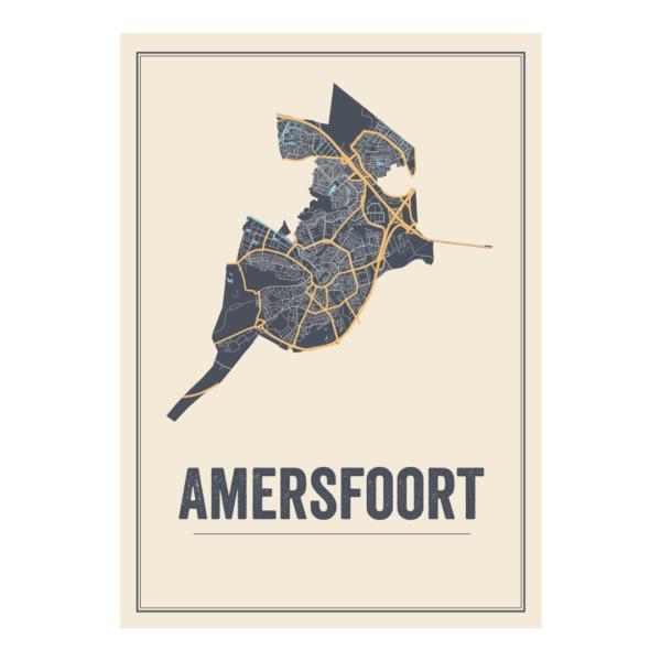poster Amerfoort stad
