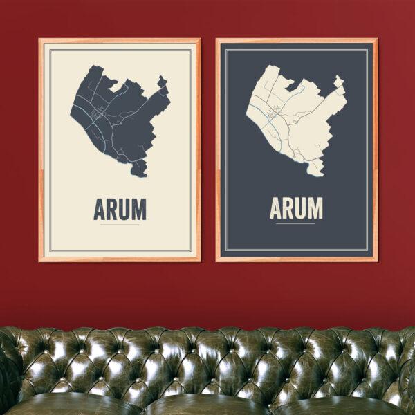 Arum kaarten posters