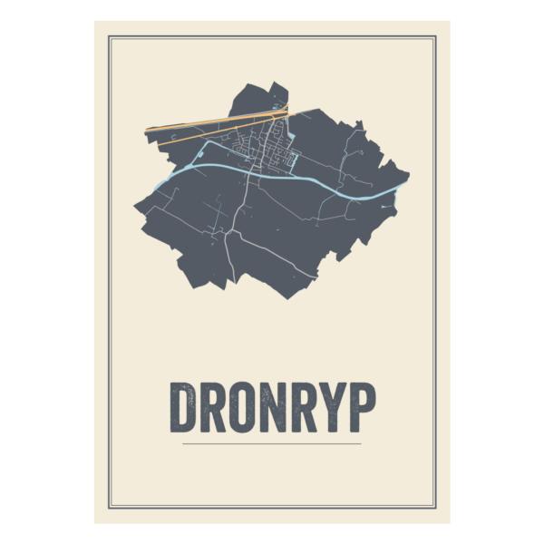 Dronryp poster kaarten