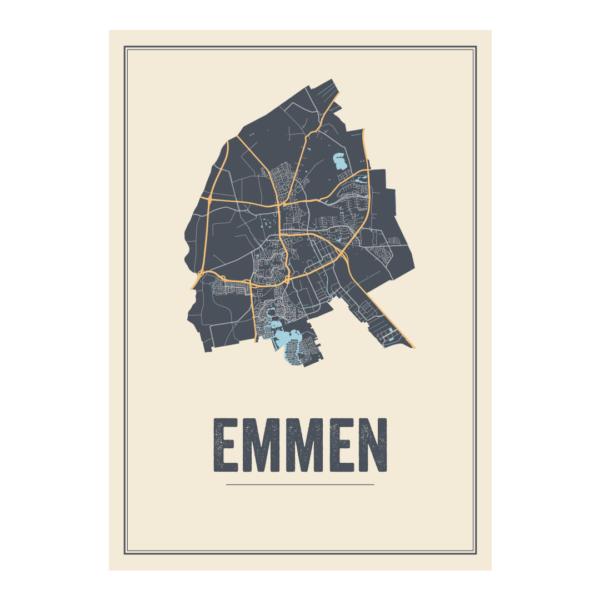 Emmen poster kaarten