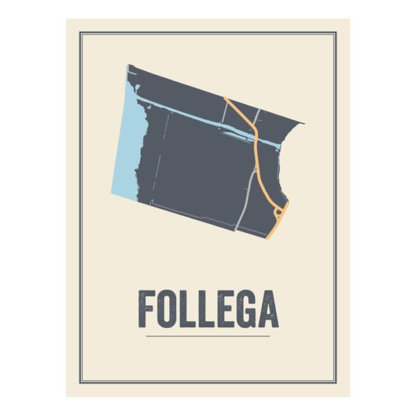 kaarten poster van Follega